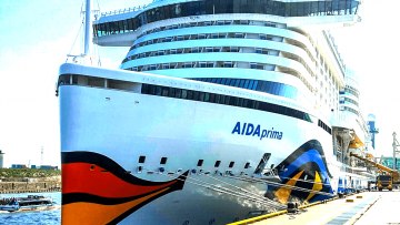 post image The team of Sartori & Berger welcomed 4 cruise ships of the AIDA fleet