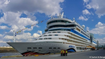 post image AIDAluna called the port of Hamburg on Sunday