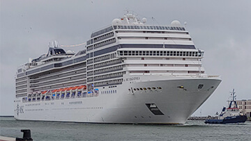 post image MSC Magnifica returned from her first big Baltic Cruise.