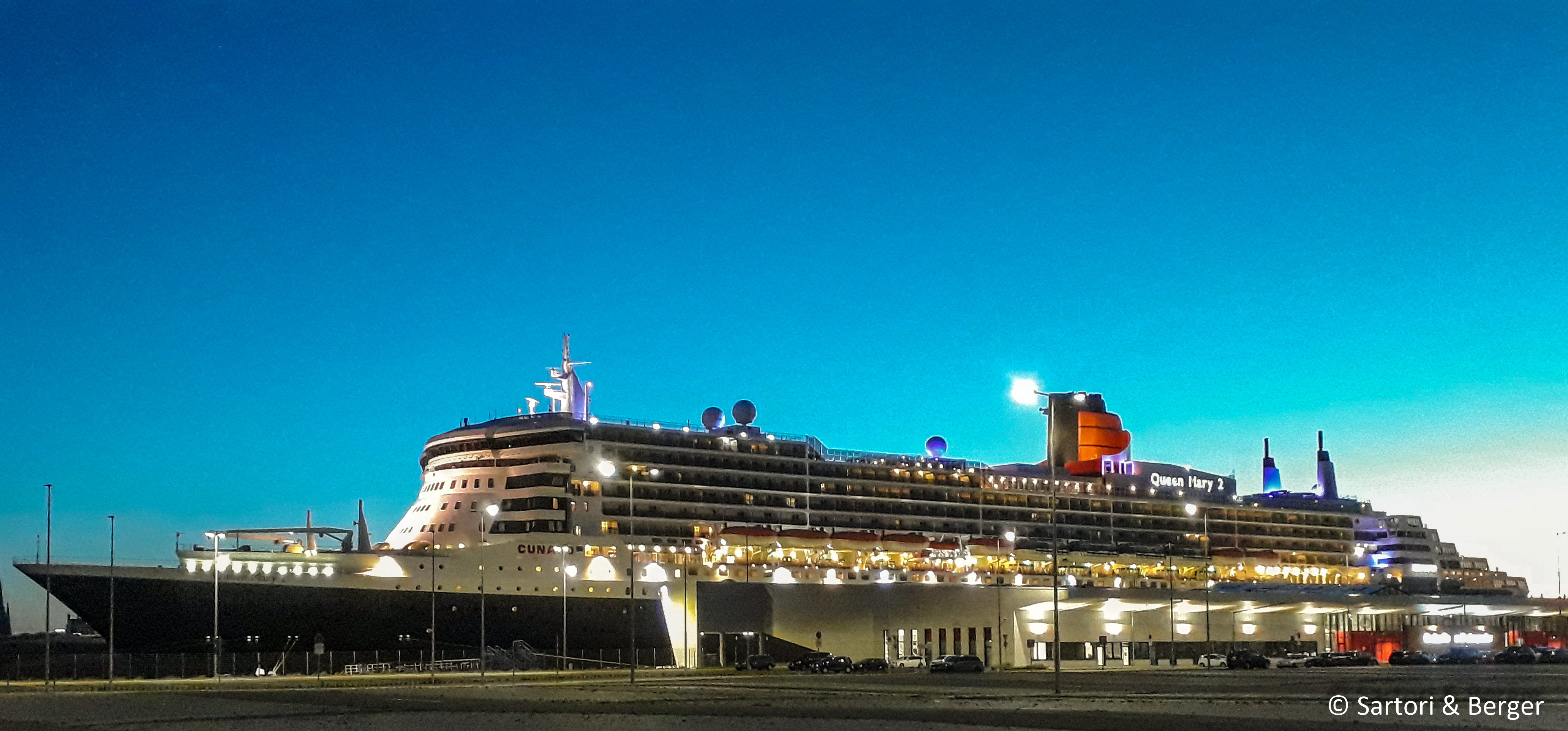 post image Welcome Queen Mary 2