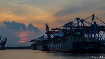 post image Double call of CMA CGM