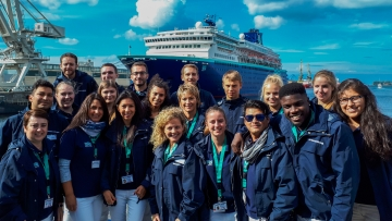 post image 3 years Pullmantur in Rostock-Warnemuende