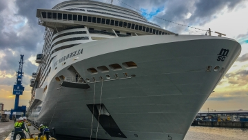 post image Maiden Call of MSC Meraviglia